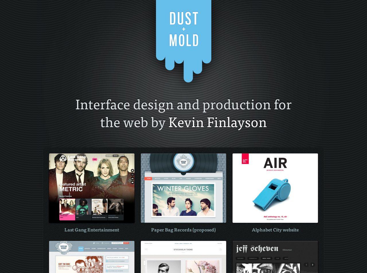 Dust & Mold Design Website