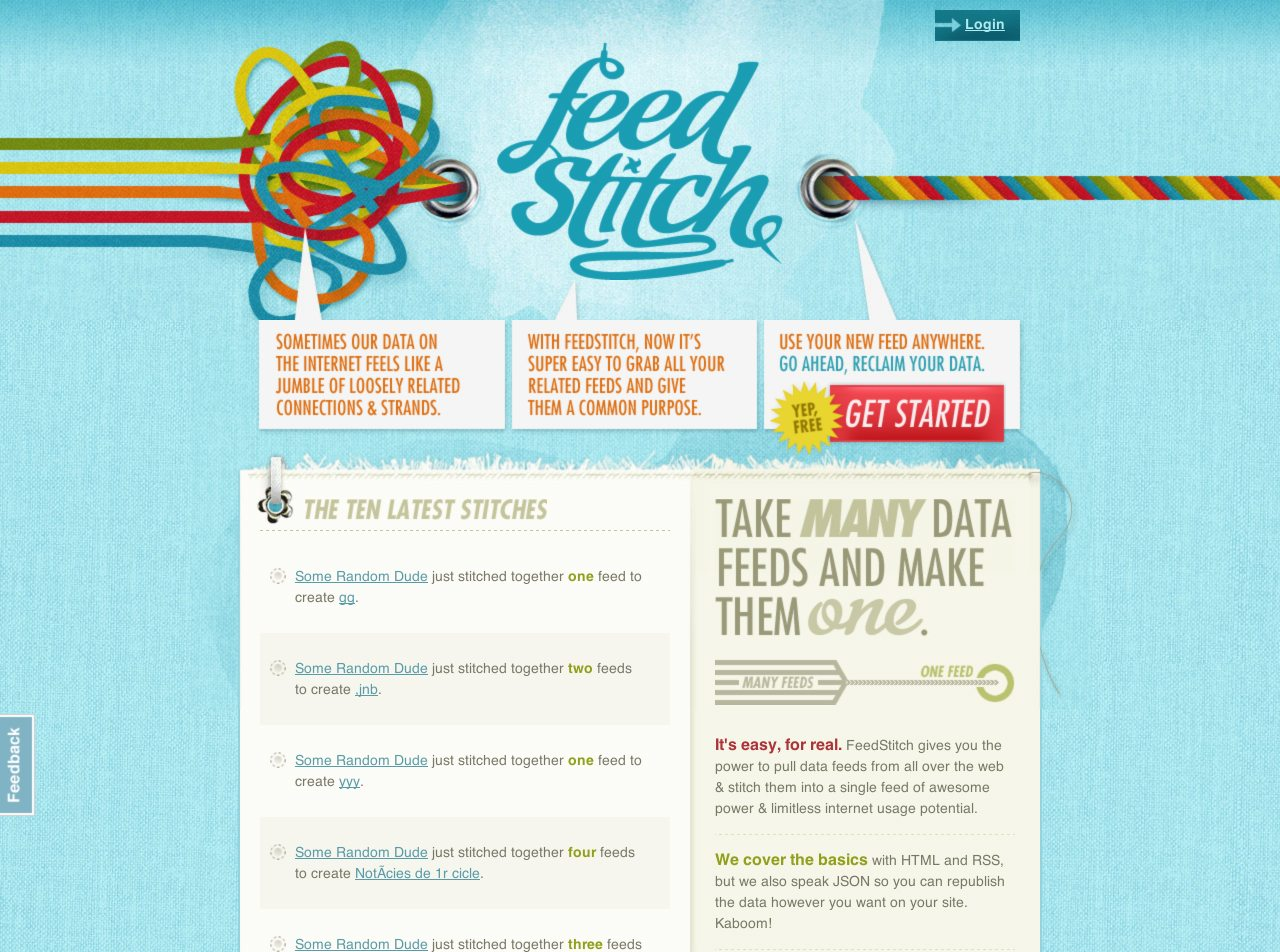 Feed Stich Website