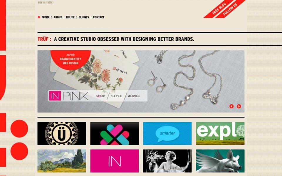 Truf Website Screenshot