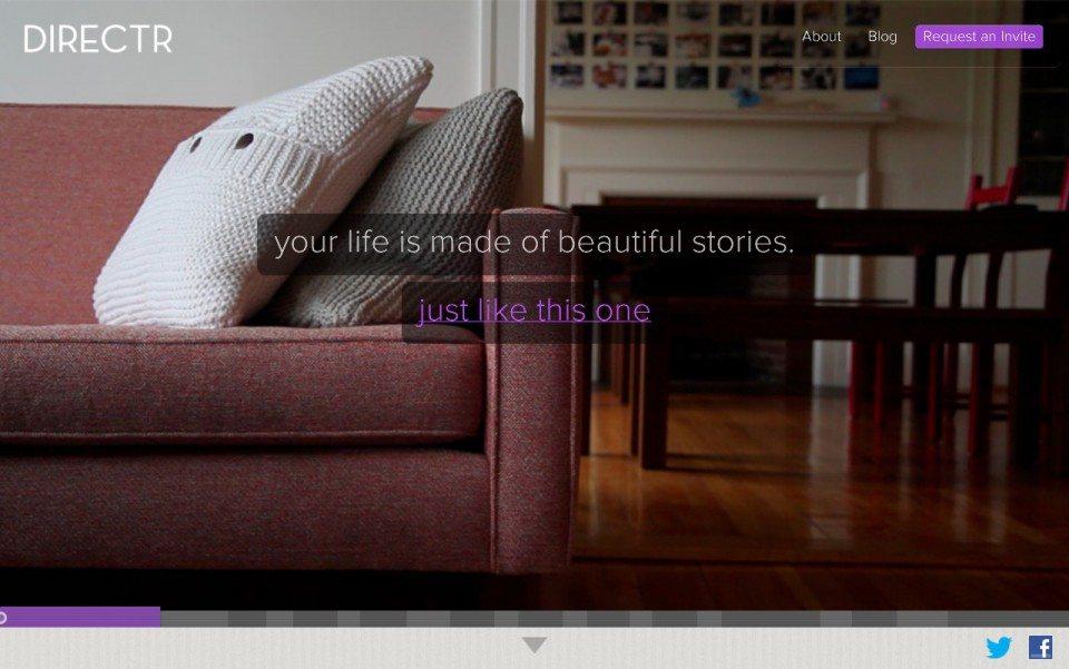 Director Website Screenshot