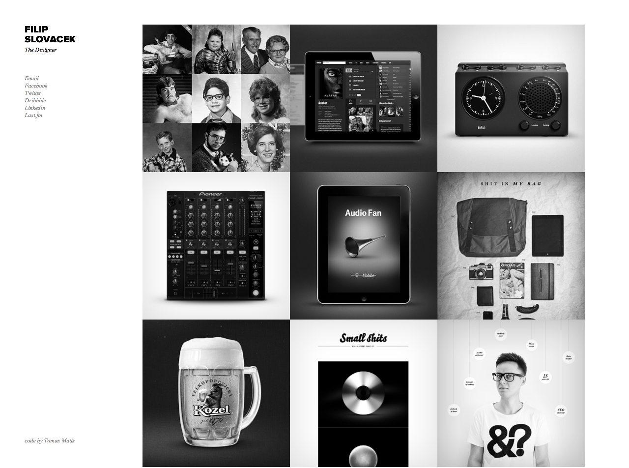 Filip Slovacek Website