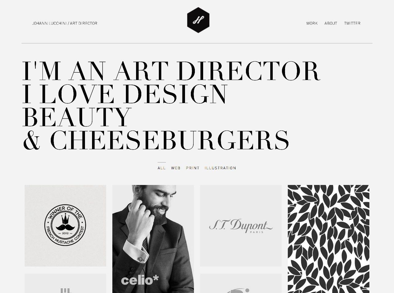 Johann Lucchini Website