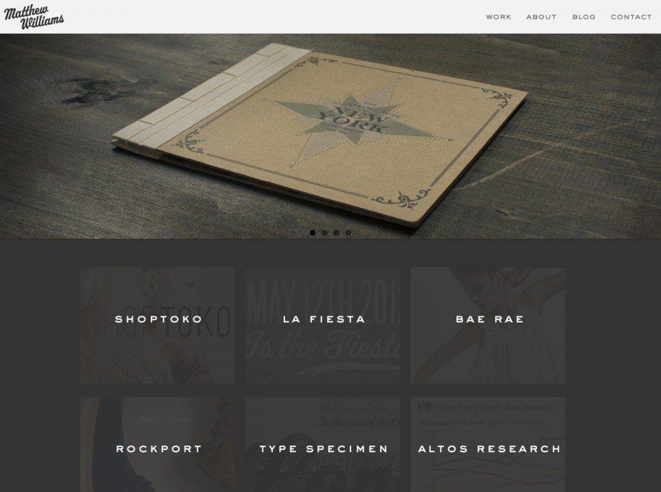 Matthew-D.-Williams Website