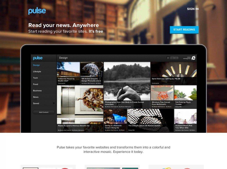 Pulse Website