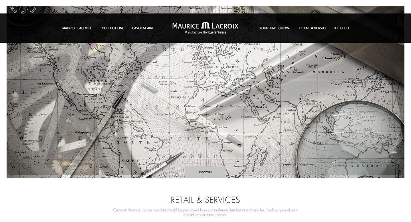 Maurice Lacroix Website